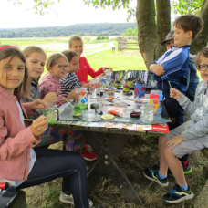 Doživljajski tabor na kmetiji